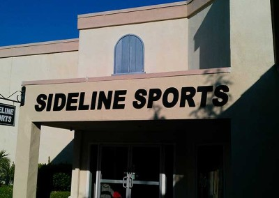 Sideline (dimensional letters)