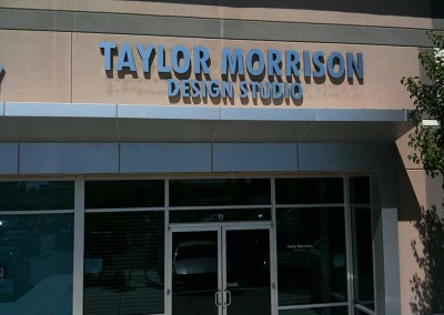 Taylor Morrison (welded channel letters)